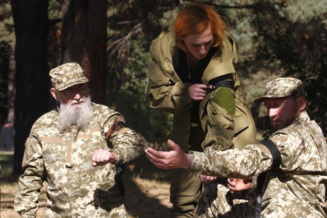 Des soldats ukrainiens.