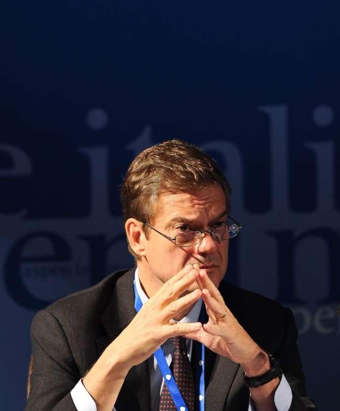 Lorenzo Bini Smaghi.