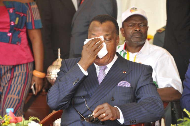 Le président Denis Sassou Nguesso, le 11 octobre.