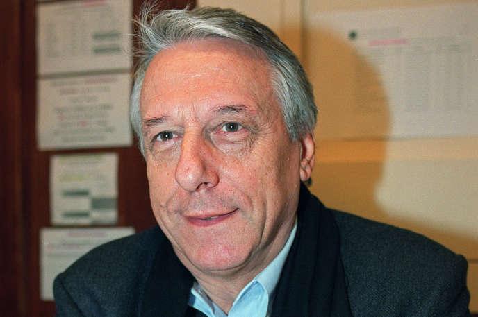 L'historien Michel Winock, en 2002.