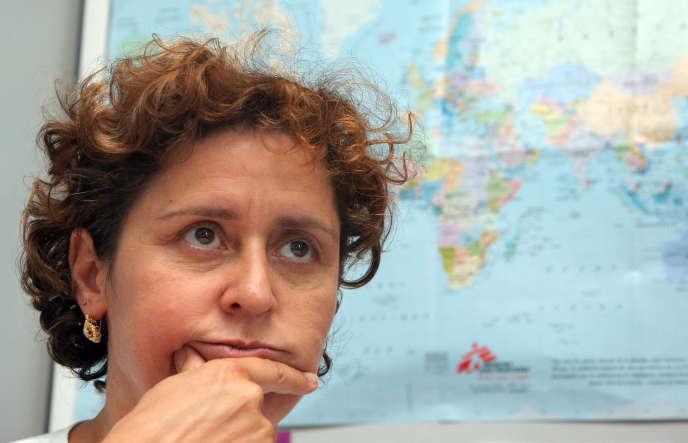 La psychiatre pour enfants et adolescents, Marie Rose Moro, photographiée le 4 septembre 2009 à Paris.