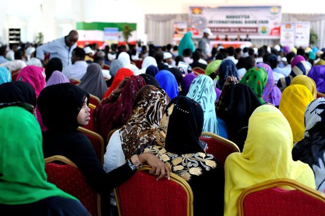 Le public de la 8e Foire du livre d'Hargeisa.