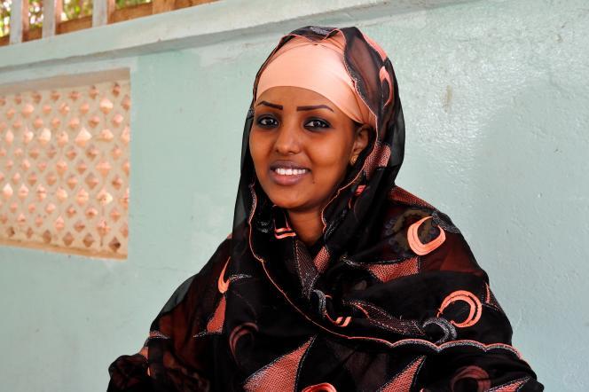 Yasmin Kalin, auteure et poète somalilandaise, à Hargeisa, le 4 août.