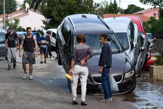 Sept personnes sont mortes à Mandelieu-la-Napoule, dans les Alpes Maritimes, le 3 octobre.