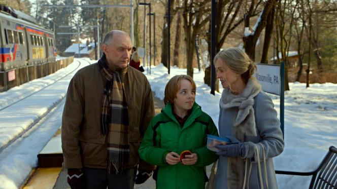 Peter McRobbie, Ed Oxenbould et Deanna Dunagan dans le film américain de M. Night Shyamalan,