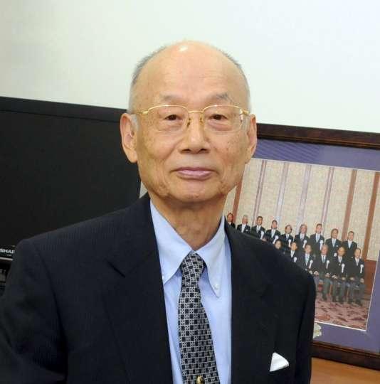 Le Japonais Satoshi Omura, co-lauréat du Prix Nobel de médecine 2015.