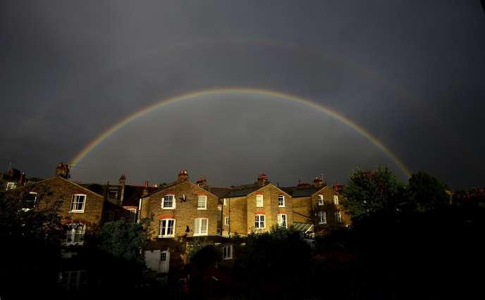 A Clapham, un quartier du sud de Londres, le 1er septembre.