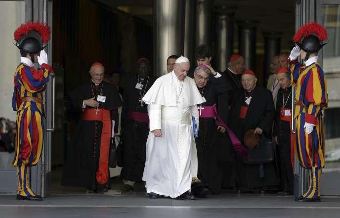 Le pape François, le 5 octobre