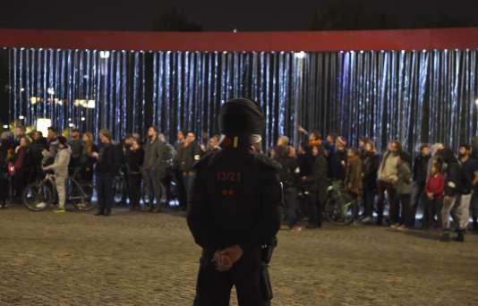 Manifestation contre le mouvement islamophobe Pegida à Dresde le 5 octobre.