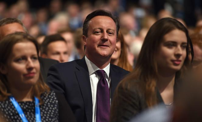 David Cameron, le 5 octobre à Manchester.