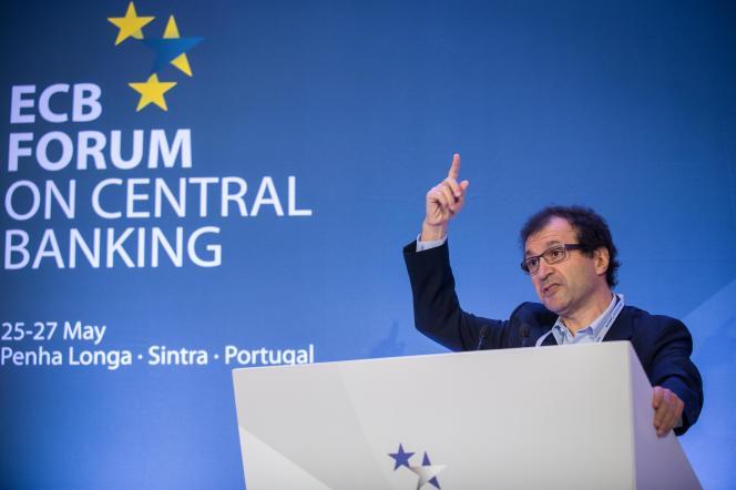 Daniel Cohen, à Sintra (Portugal), le 27 mai 2014.