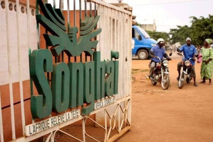 L'entrée du centre Songhaï de Porto Novo (Bénin).