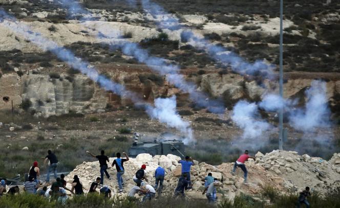 Près de Ramallah, le 5 octobre.