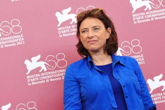 La réalisatrice Chantal Akerman au Festival du film de Venise en septembre 2011.