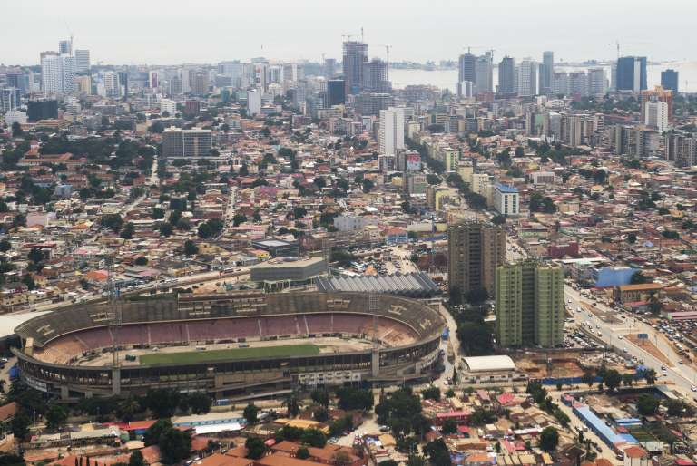 Le centre de Luanda (Angola), en mai 2014.
