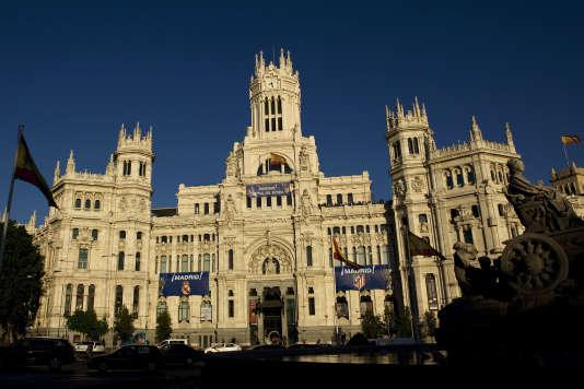 L'Hôtel de ville de Madrid.