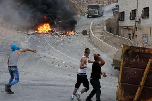 Dans la bande Gaza, en cotobre 2015. AFP PHOTO / JAAFAR ASHTIYEH