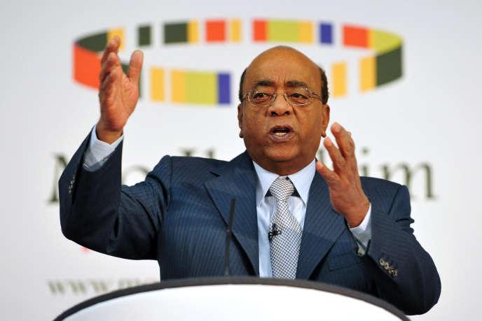 Mo Ibrahim, le fondateur de la fondation éponyme.