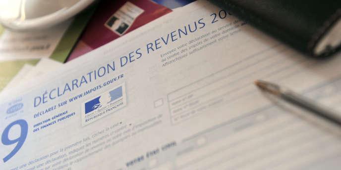Déclaration de revenus, 2010.