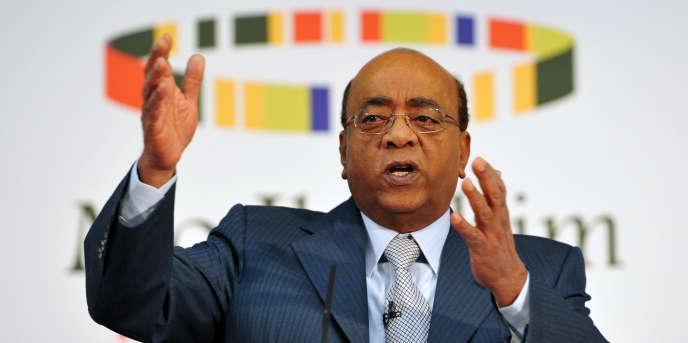 L'Anglo-Soudanais Mo Ibrahim à Londres, en 2013.