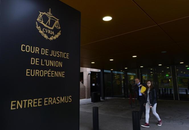 La Cour de justice de l'Union européenne, le 5 octobre.