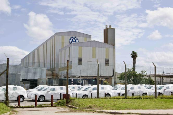 Une usine Volkswagen à Uitenhage, près de Port Elizabeth en Afrique du Sud, le 1 octobre 2015.