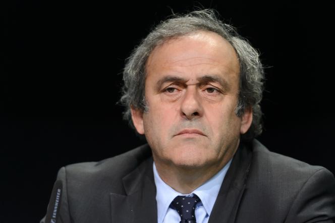 Michel Platini, le 28 mai à Zurich.