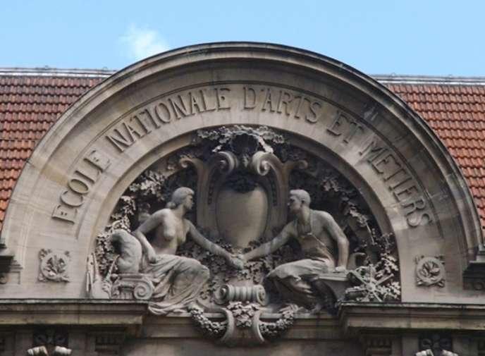 L'Ecole nationale supérieure des arts et métiers, à Paris.