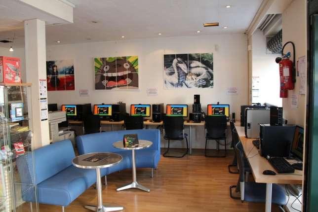 A Tarbes, le cybercafé Webtime s'apprête à fermer définitivement ses portes.