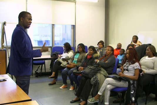 """Extrait du documentaire """"Le véritable coût de l'immigration"""", ici, Christian, Camerounais, chef d'entreprise."""