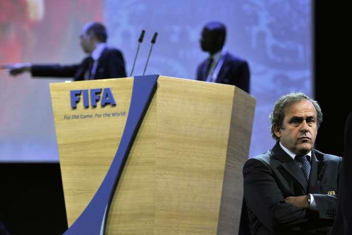 Michel Platini, en Suisse en juin 2011.