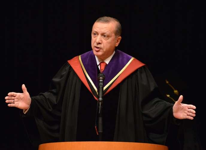 Recep Tayyip Erdogan le 8 octobre 2015.