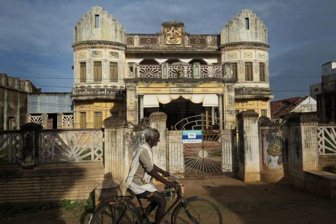 Une maison palatiale du Chettinad à Rayavaram.