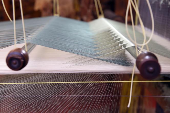 La manufacture de soie Tassinari & Chatel, à Lyon, fabrique notamment du tissu d'ameublement.