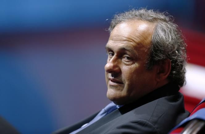 Michel Platini, le 28 août 2014.