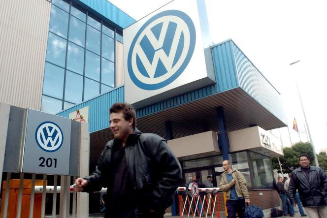 Usine Volkswagen à Bruxelles.