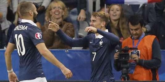 La complicité entre Benzema et Griezmann est indéniable, mais les ennuis judiciaires du premier pourraient bien compliquer l'association des deux attaquants madrilènes.