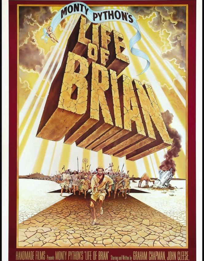 Dans cette farce des Monty Python, Brian, le héros, né le même jour que Jésus-Christ, est pris à tort pour le Messie.