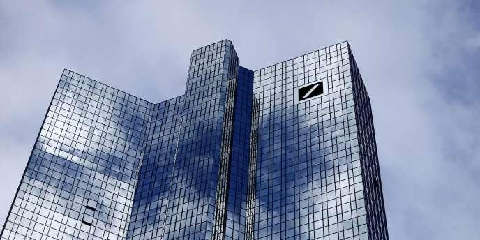 Le siège de Deutsche Bank à Francfort.
