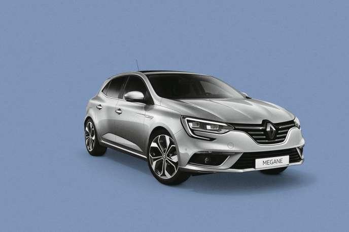 La quatrième génération de la Renault Mégane.