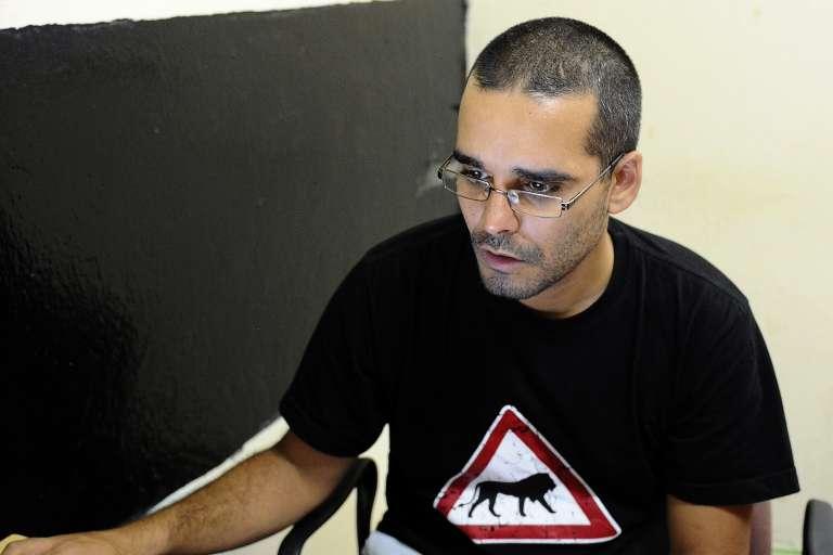 Le rappeur portugo-angolais Luaty Beirão, emprisonné depuis 4 mois.