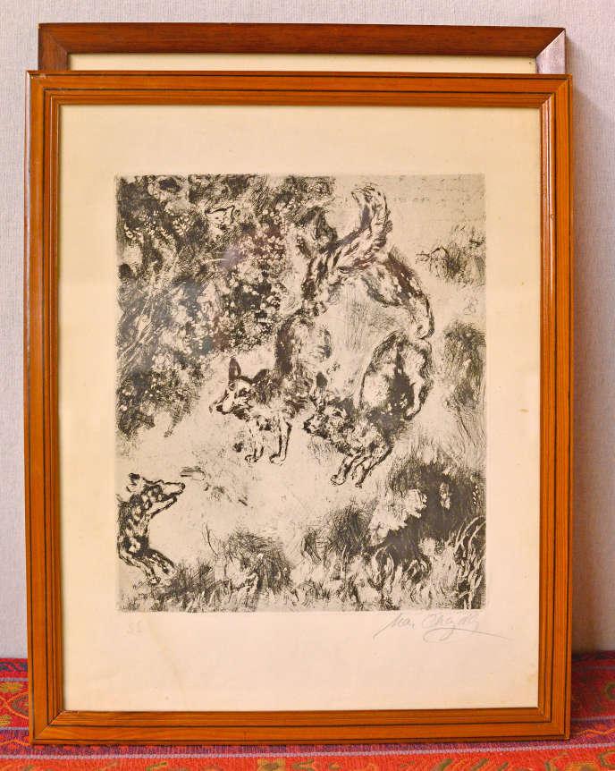 Illustration de la fable de La Fontaine