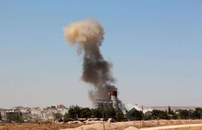 Kobané, en Syrie, juin 2015.