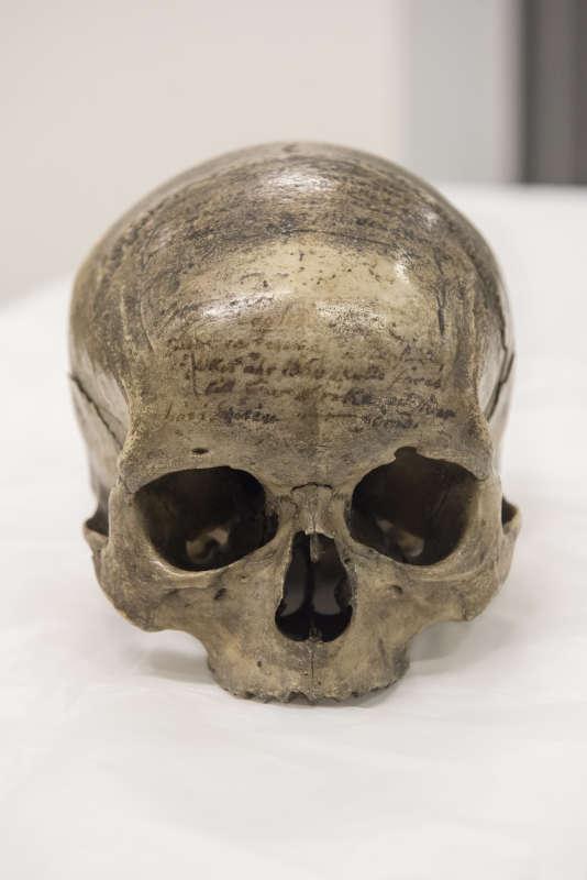 Le crâne de Descartes.