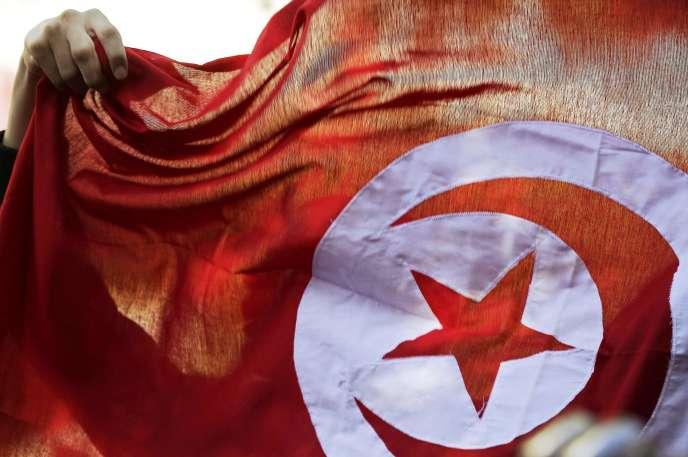 Le 14 janvier à Tunis, lors des célébrations du quatrième anniversaire de la révolution de 2011.
