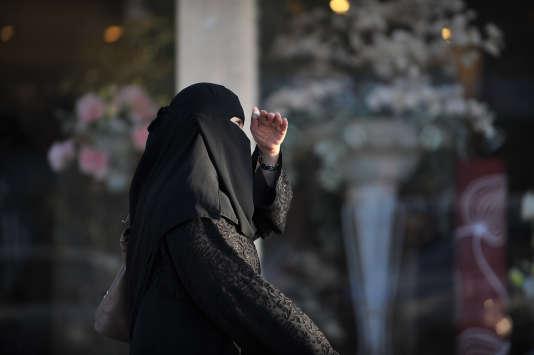 Dans une rue de Riyad, en février 2014. AFP PHOTO/FAYEZ NURELDINE