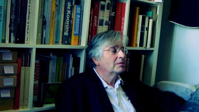 Capture d'écran d'un entretien vidéo avec Marc Dachy diffusé sur Vimeo en mai 2014.
