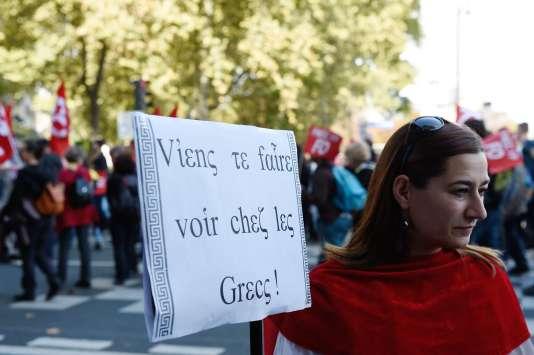 En termes de chiffres, le pari n'est pas perdu. L'organisation syndicale majoritaire dans le second degré avance un chiffre de « 15 000 à 20 000 manifestants ».
