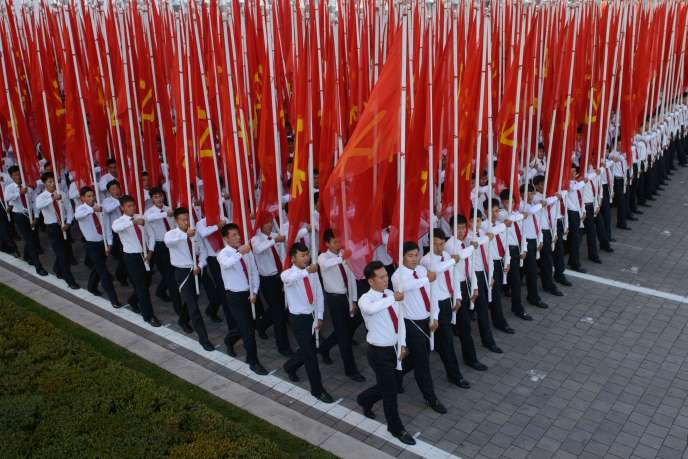 Défilé à Pyongyang, en 2015.