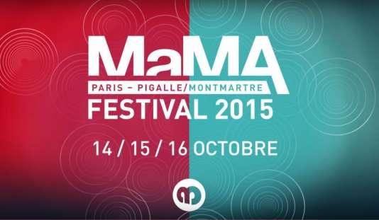 Affiche du MaMA, convention professionnelle et festival.
